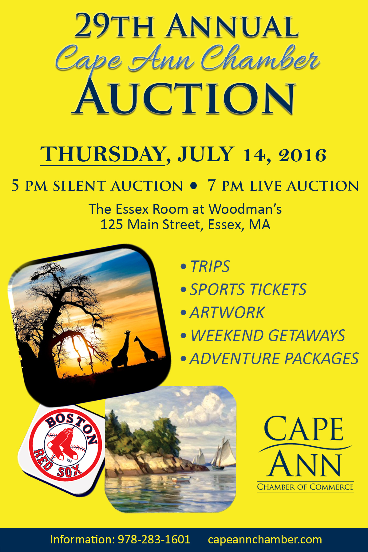Cape Ann Chamber Auction