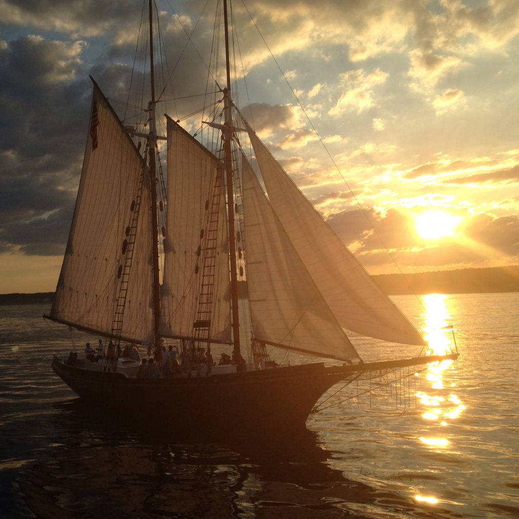 Sailing on Cape Ann